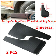 Universal Racing Car SUVs Mudflaps Wheel Moulding Fender Mudguard Custom Black