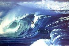 Surfer Marco Polo Waimea Shorebreak Hawaii Surf Poster 24 x 36
