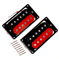 Electric 6 String Guitar Double Coil Humbucker Pickup Neck Bridge Pickups Set