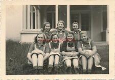 5 x Foto, weibl. Arbeitsdienst, Züllichau, Pommerzig 1940, Freundinnen (N)19227
