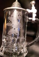 Rare Walt Disney World miniture Minnie mouse lidded beer stein with lid BOCKLING
