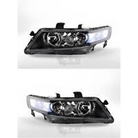 Halogen Scheinwerfer Set für Honda ACCORD CL/CM Bj. 01/06- H1/H1 mit Blinker