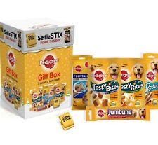 PEDIGREE GIFT BOX - (5 pack) - Christmas Dog Treat Pack bp XMas PawMits Pet Food