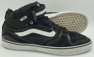 Vans Off The Wall Mid Suede/Canvas Trainers TR6Q Black UK10.5/US11.5/EU45