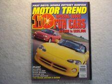 Motor Trend 1994 November Lexus LS 4000 Buick Riviera Jaguar XJ6 Mazda Handa