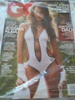 2007 June GQ Magazine Jessica Alba Cover Sealed Perfect Copy