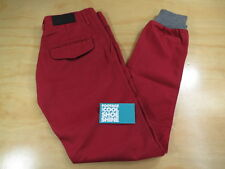 KITH NYC CLASSIC MERCER MEN'S JOGGER PANTS CARMINE RED 26 RONNIE FIEG RF JUST US