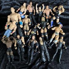 Bulk Lot Of 16 WWE Wrestler Action Figures Undertaker John Cena Wrestling Toys