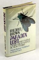 First Edition 1973 Paradox Lost Fredric Brown Short Stories Hardcover w/DJ