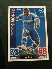 KAA Gent Simon UEFA Champions League 15/16 Match Attax Football Card