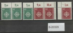 Germany 1956 MNH issues S-20329