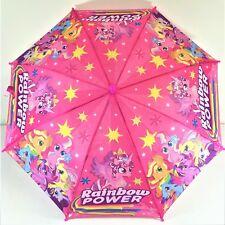 Umbrella Kids Girls Water Proof Pink My Little Pony Cue Au Stock