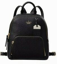 New Kate Spade New York Caden Carter Leather Backpack Black