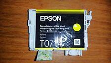 New Genuine Epson ink cartridge T0714