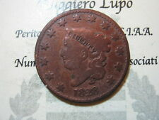 Stati Uniti United States One / 1 Cent 1828 (copper) km 45 f/mb
