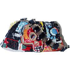 VALENTINO Garavani Jean-Michel Basquiat Limited Edition Evening Sequin Handbag
