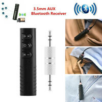 3.5mm Jack Mini Wireless Receiver Audio Adapter Car AUX with Mic Handsfree