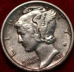 1931-D Denver Mint Silver Mercury Dime