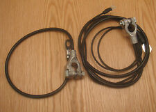 1957 CHEVY BATTERY CABLES Correct Original Style 8 Cyl ** USA MADE **