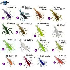 "10 leurre souple larve insecte Lichinka Vesnynki TOIRTAP 1,4"" pêche truite chub"