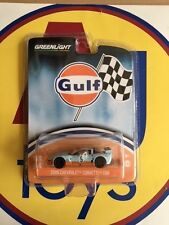 GREENLIGHT HOBBY 1:64 GULF OIL RACING 2009 CHEVY CORVETTE C6.R