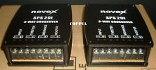 novex Coppia (2x) Filtro Crossover 3 Vie 12 dB/Oct  4/8 Ohm 2x 500 Watt Max