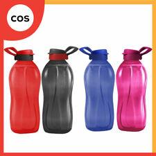 Tupperware 2 Pcs Giant Eco Bottle Flip Top with Handle 2.0L Drink Water Bottle