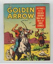 GOLDEN ARROW #11 MIGHTY MIDGET COMIC - 5 X 4 MINI COMIC - SAMUEL LOWE & CO/1942