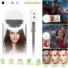 Selfie Portable LED Ring Fill Light Camera Photography For CellPhone iPhone X Xs