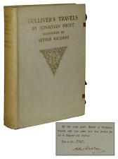 Gulliver's Travels ~ ARTHUR RACKHAM ~ Signed Limited Large Paper Edition ~ 1909