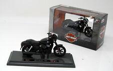 Moto Modello 1:18 Harley Davidson Street 750 Nero 2015 Maisto