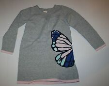New Gymboree Butterfly Front and Back Sweater Dress Size 5T NWT Butterfly Garden