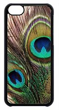 Peacock Feather Feathers Animal Print Case for iPhone 4 4s 5 5s 5c 6 6 Plus
