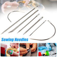 Pack of 7 Upholstery Repair Hand Needles Stitching Craft For Canvas Sail Carpet