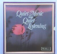 """Quiet Music for Quiet Listening,  12"""" Vinyl Record (7 Records)  RCA 1985"""