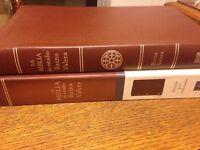 La Biblia de Estudio Reina Valera : Reina 1909 piel cafe  elaborada mediana