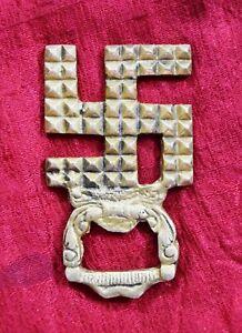 God Swastika Symbol Golden Brass Bottle Opener Corona Bud Light Cap Opener MJ181