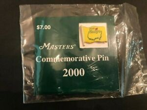 2000 Masters Lapel Pin