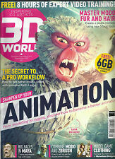 3D WORLD,   SEPTEMBER, 2016  NOTE : SORRY, FREE 8 HOURS OF EXPERT VIDEO TRAINING