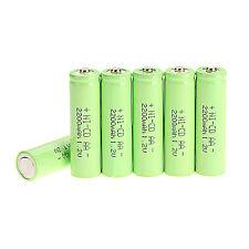 5pcs AA 1.2v 2200mAh Ni-CD batteria ricaricabile, Verde