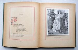 Novaro. IL CESTELLO poesie per piccoli illustr. da DOMENICO BURATTI. Treves 1920