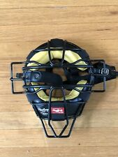 Rawlings PWMX Solid Wire Adult Umpire Mask - Black Super Nice