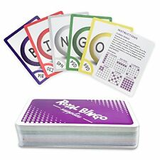 "Royal Bingo Supplies Pocket 3.5"" x 2.5"" Bingo Calling Cards, Pack of 81"