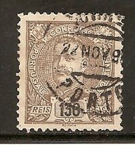 Portugal Stamps- Scott # 126/A49- 130r- Canc/Lh-1898