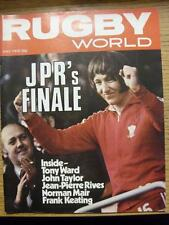 01/05/1979 Rugby World Magazine: May Edition - Complete Issue of the monthly mag