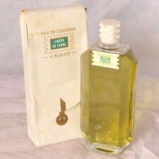 F. Millot Crepe de Chine 4oz eau de cologne, vintage sealed!