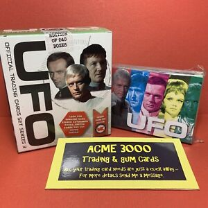 Unstoppable UFO Series 3 Basic Base Set of 54 Trading Cards + WHITE BOX Only
