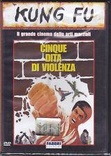Dvd **CINQUE DITA DI VIOLENZA ~ THE INVINCIBLE BOXER** nuovo 1973