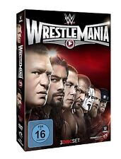 WWE Wrestlemania 31 XXXI 2015 3er [DVD] + Hall of Fame Zeremonie NEU DEUTSCH