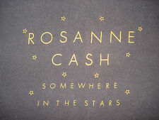 Vintage 1980s Rosanne Cash V Neck Concert T Shirt Soft Johnny Country Music L